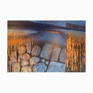 Skye Abend, Zeitgenössisches Abstraktes Expressionistisches Ölgemälde