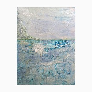 A Place From Childhood Memories, Contemporary Abstract Expressionist Painting
