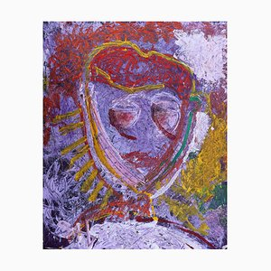 Guardian Sista, Neo-expressionistische Acrylmalerei, 2020