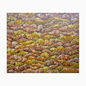 Yewdale Beck, Abstract Expressionist Landscape Painting, 2019