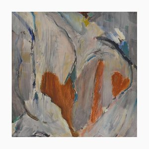 Untitled (Hearts), Mixed Media Contemporary Painting by Peter Rossiter