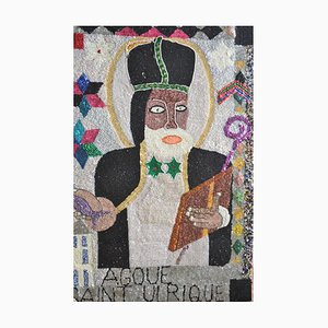 Saint Ulrique, Voodou Ceremonial Flag, Pascal, 2000