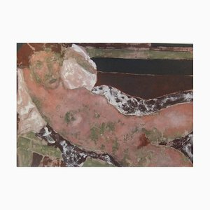 Death of a Mocking Bird, pittura ad olio figurativa contemporanea, 2007