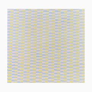 Gathering, pintura al óleo abstracta contemporánea, 2020