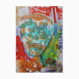 Telegiornale, Pittura figurativa neo-espressionista contemporanea, 2020