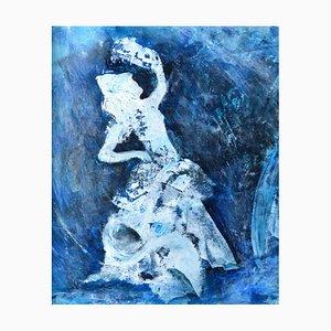 Flamenco, Contemporary Figuratives Ölgemälde, 2019