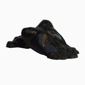 Emergent Form, Contemporary Cast Bronze Sculpture, 2018