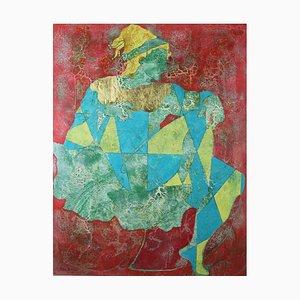 Firebird, Ashes to Ashes, pittura ad olio figurativa contemporanea