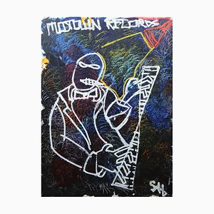 Motown Records, Contemporary Neo-Expressionist Painting, 2020