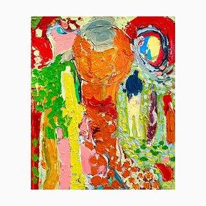 Sonnenschein-Weg, Contemporary Abstract Expressionist Ölgemälde, 2020