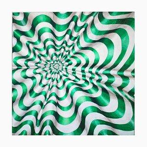 Deje que el ojo haga el trabajo, pintura al óleo abstracta contemporánea, 2015