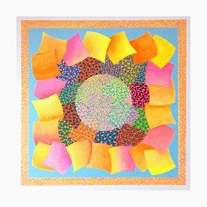 Portal, pintura abstracta contemporánea, 2020