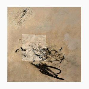 Líneas de vuelo, pintura abstracta contemporánea, años 10