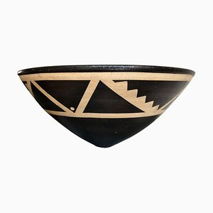Resist Stoneware Bowl by Jason Wason