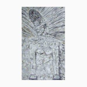 Pittura figurativa illuminata di Pierrot, 1991