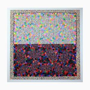 Tanz am Messer Rand der Sterblichkeit, Contemporary Abstract Painting, 2020
