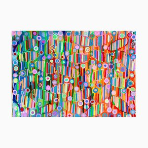 Mortal Coil (Towards the Light), Contemporary Abstract Painting, 2020