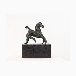 Danusia Wurm, Turning Point, Bronzepferd, 2018, Raw Edges