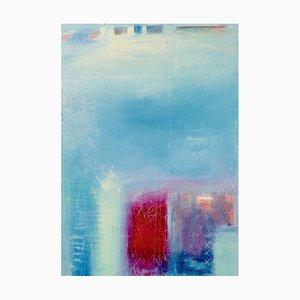 Pintura abstracta In Between Dreams, Contemporary Mixed Media, 2020