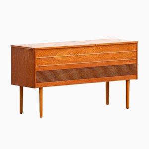Skandinavisches Vintage Sideboard oder Schallplattenschrank