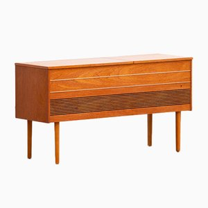 Vintage Scandinavian Sideboard or Record Cabinet