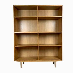 Scandinavian Oak Bookcase from SKM, 1960s