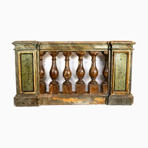 Antique Console or Church Partition, Italy, 1700s