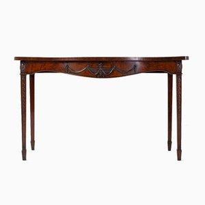 Table d'Appoint Style George III en Acajou, 18ème Siècle