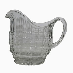 Glass Jug by Eduard Wimmer-Wisgrill for Lobmeyr, 1930s