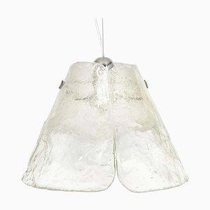 Lampe à Suspension en Verre de Murano par Carlo Nason pour Mazzega, 1970s