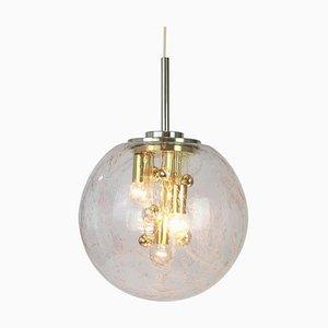 Large German Sputnik Big Ball Pendant Lamp by Doria for Doria Leuchten, 1970s