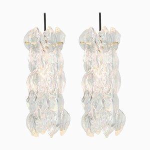 Murano Glass Pendant Lights by Carlo Nason for Kalmar, 1970s