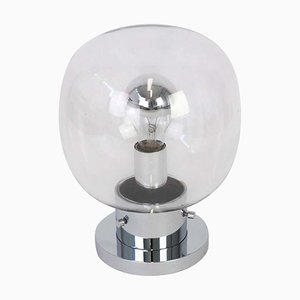 Mid-Century German Ball-Shaped Ceiling or Wall Lamp from Limburg, 1970s