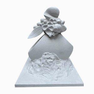 Fruit and Foliage Sculpture by Serge Mansau, 1990