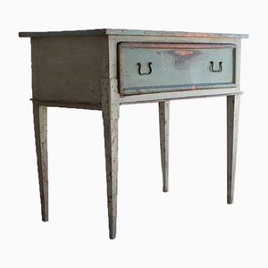 Rustic Italian Fir Desk, 19th Century