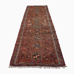 Long Vintage Middle Eastern Karajar Entrance Hall Carpet, 1930s
