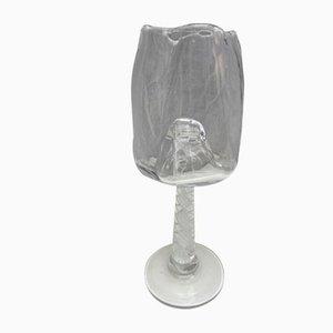 Vase à Pied par Serge Mansau pour Murano, 1992