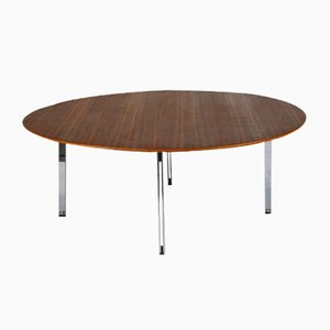 Walnut Parralel Bar Coffee Table by Florence Knoll for Knoll International