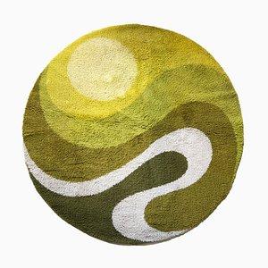 Tappeto Swirl verde di Prinstapijt