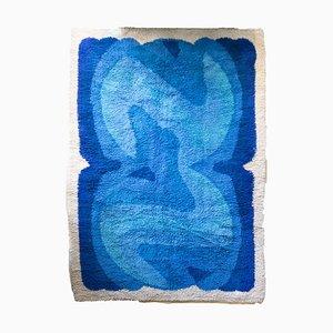 Blauer Pi Teppich von Desso