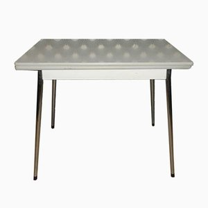 Table de Cuisine Extensible en Chrome & Formica, 1960s