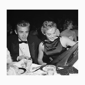 James Dean & Ursula Andress Silver Gelatin Resin Print Framed in Black by Michael Ochs Archive