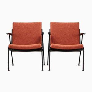 Oase Stühle von Wim Rietveld für Ahrend De Cirkel, 1958, 2er Set