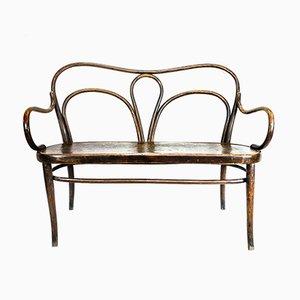 2-Sitzer Sofa aus Buche von Gebrüder Thonet Vienna GmbH, 1920er