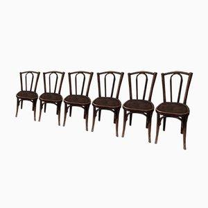 Antike Esszimmerstühle, 6er Set