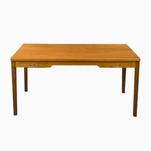 Vintage Teak Desk by Ole Wanscher for A.J. Iversen