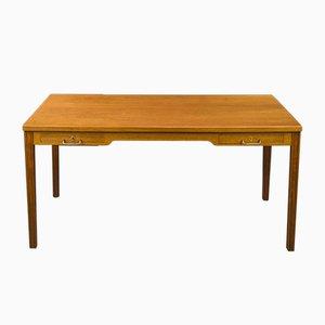 Vintage Teak Schreibtisch von Ole Wanscher für AJ Iversen