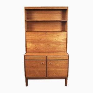 Mid-Century Teak Danish Style Bureau or Desk by Peter Hanson for Vanson
