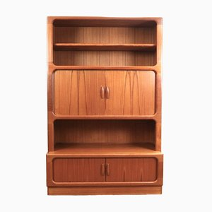 Mid-Century Danish Teak Wall Units from Dyrlund, Set of 4