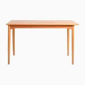 Teak Esstisch mit abnehmbarer Tischplatte, 1950er